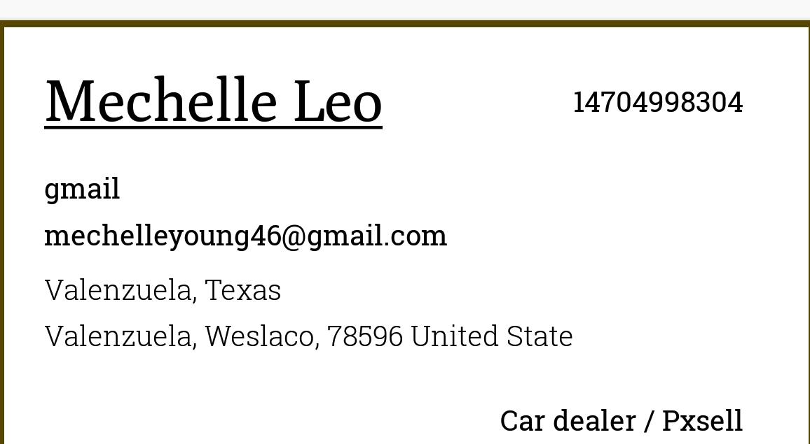 Leo mechelle